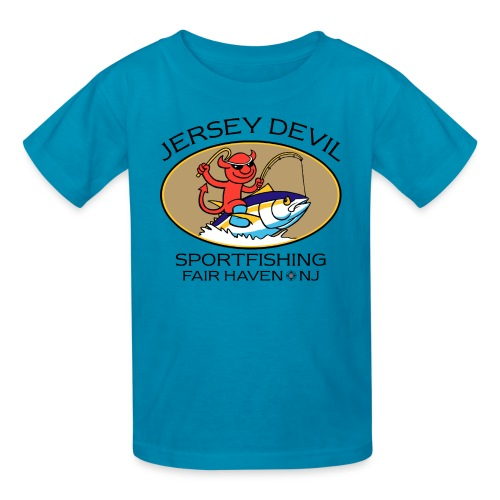 Jersey Devil Kid's T-shirt: Tuna - Kids' T-Shirt