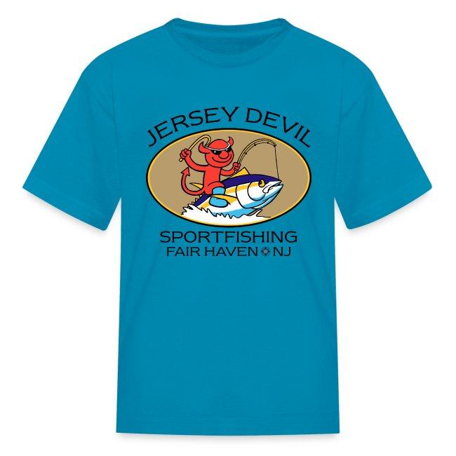 Jersey Devil Kid's T-shirt: Tuna