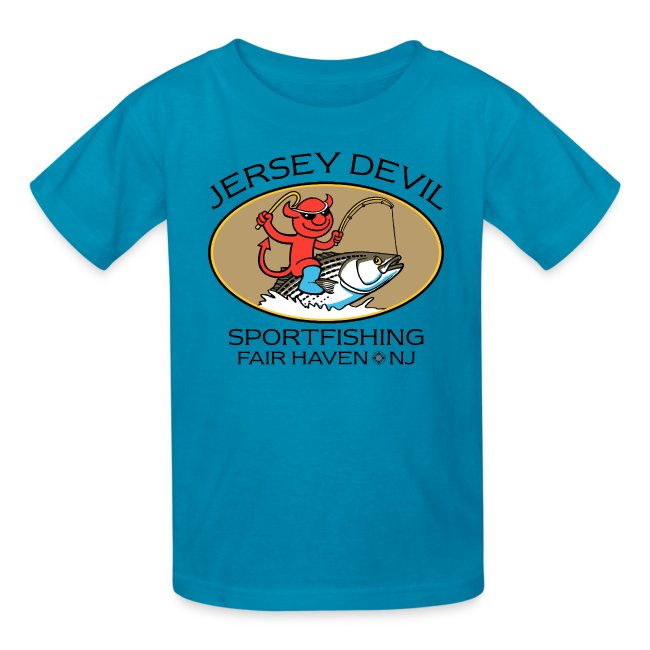 Jersey Devil Kid's T-shirt: Striper