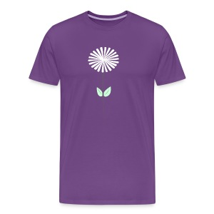 Men's Purple Dandelion Shirt - Men's Premium T-Shirt