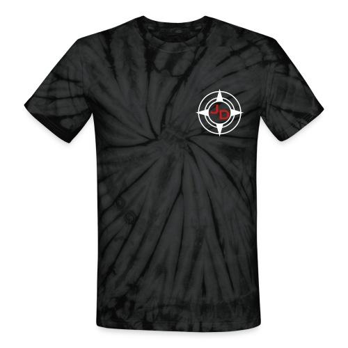 Jersey Devil Unisex Tie Dye Grey: Tuna - Unisex Tie Dye T-Shirt