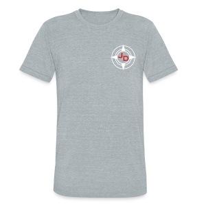 Jersey Devil Unisex American Apparel T-shirt Grey: Tuna - Unisex Tri-Blend T-Shirt