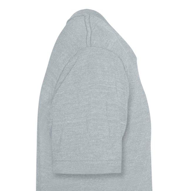 Jersey Devil Unisex American Apparel T-shirt Grey: Striper