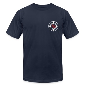 Jersey Devil Men's T Navy: Tuna - Men's Fine Jersey T-Shirt