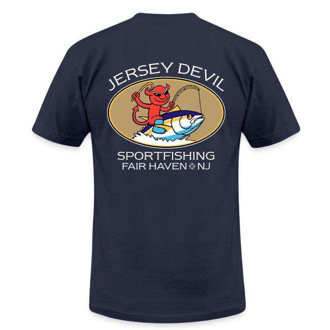 Jersey Devil Men's T Navy: Tuna