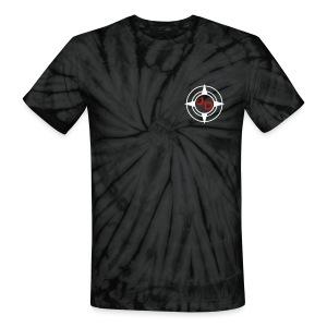 Jersey Devil Unisex Tie Dye Grey: Front GFX - Unisex Tie Dye T-Shirt