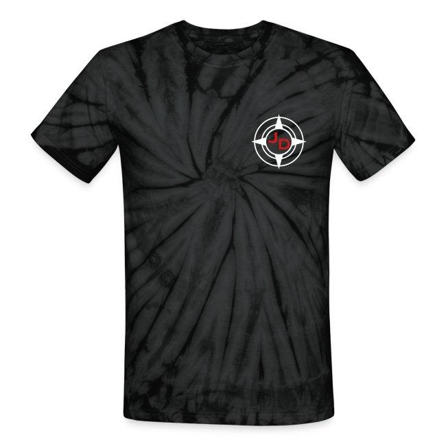 Jersey Devil Unisex Tie Dye Grey: Front GFX