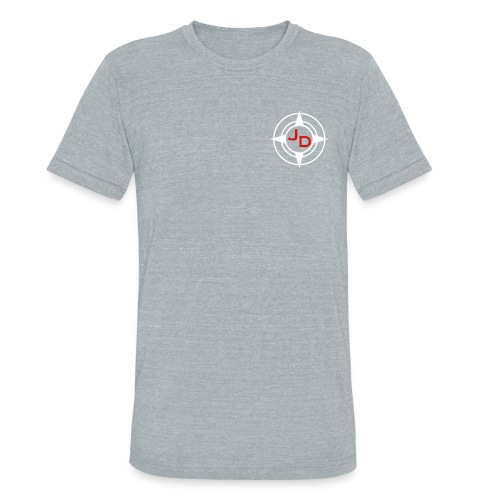 Jersey Devil Unisex American Apparel T-shirt Grey: Front Only - Unisex Tri-Blend T-Shirt