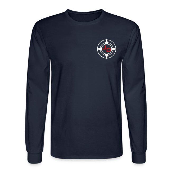 Jersey Devil Men's Long Sleeve T-shirt Dark: Front Only