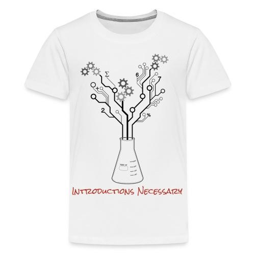 IN Logo Kid's Shirt - Kids' Premium T-Shirt