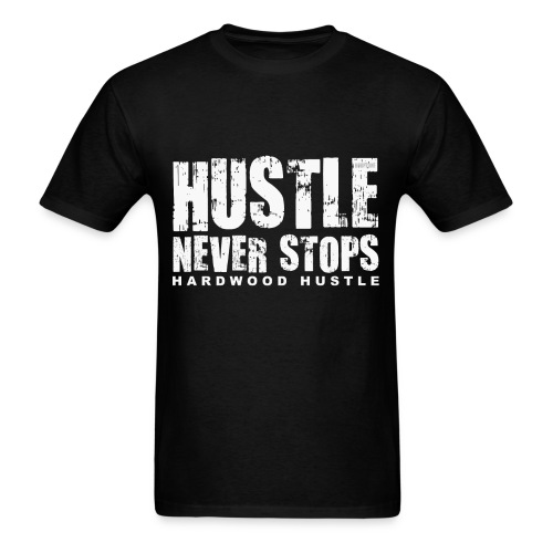 Hustle w/light art - Men's T-Shirt