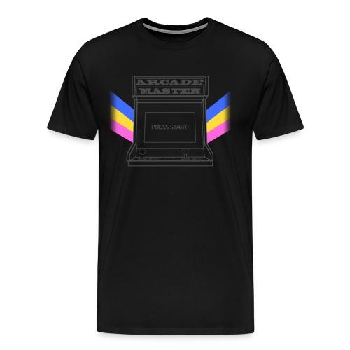 ARCADE MASTER - Men's Premium T-Shirt