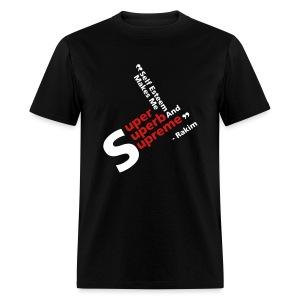 Rakim Quote - Men's T-Shirt