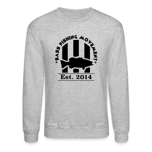 Classic Black Logo Crew Neck  - Crewneck Sweatshirt