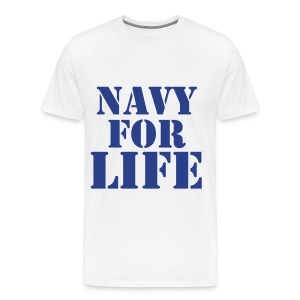 Navy for Life - Men's Premium T-Shirt