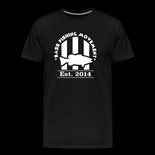 Classic White Logo T-Shirt - Men's Premium T-Shirt