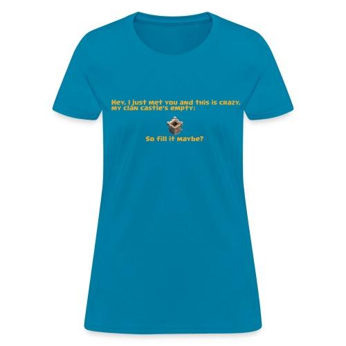 Fill my CC - Women's T-Shirt