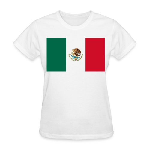 Flag of Mexico - Women's T-Shirt