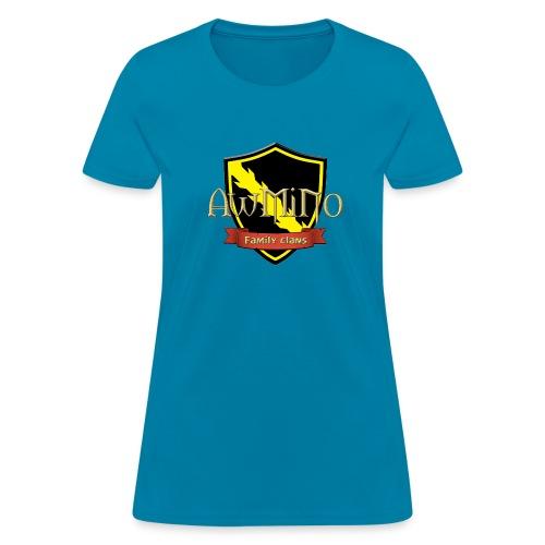 Large AwMiNo Family - Women's T-Shirt