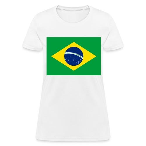 Flag of Brazil - Women's T-Shirt