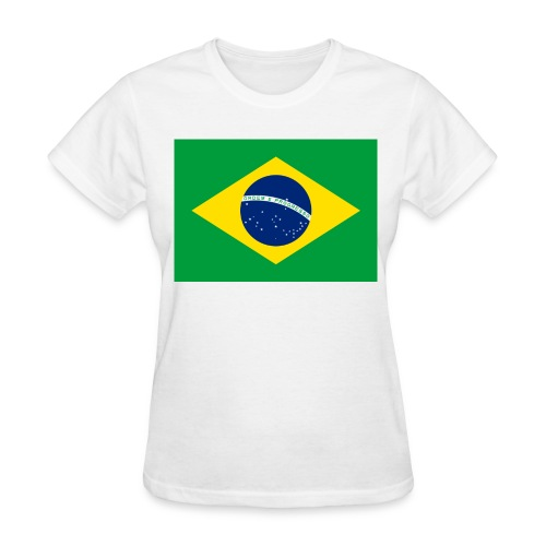 Flag of Brazil - Women's T-Shirt
