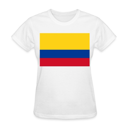 Flag of Colombia - Women's T-Shirt