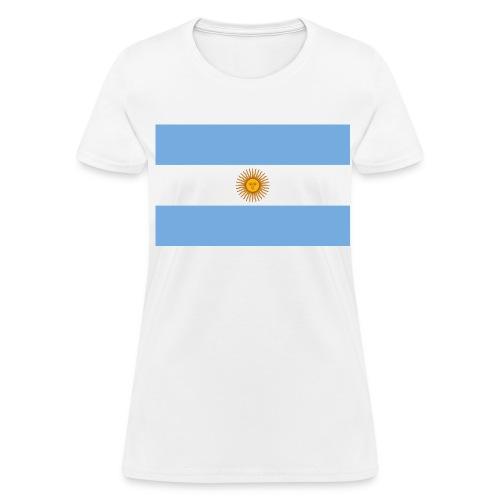 Flag of Argentina - Women's T-Shirt