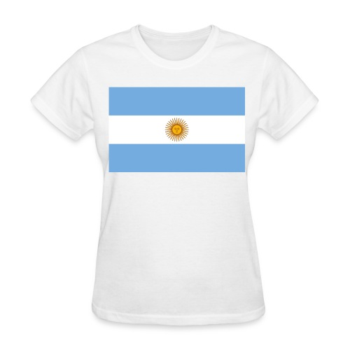 Flag of Argentina - Women's T-Shirt