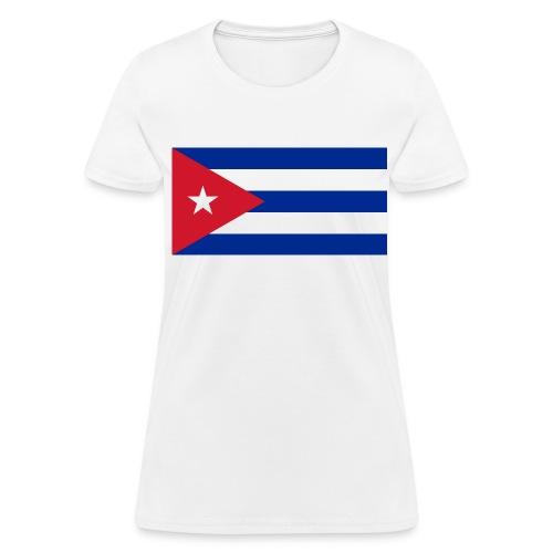 Flag of Cuba - Women's T-Shirt