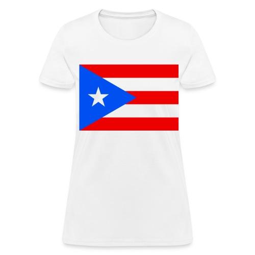 Flag of Puerto Rico - Women's T-Shirt