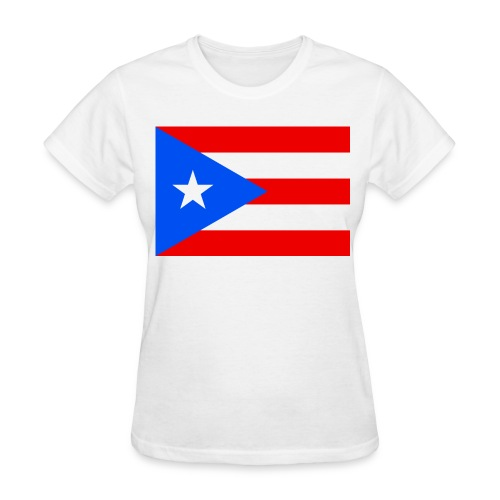 Flag of Puerto Rico - Women's T-Shirt