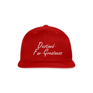 D.F.G Red Snapback  - Snap-back Baseball Cap