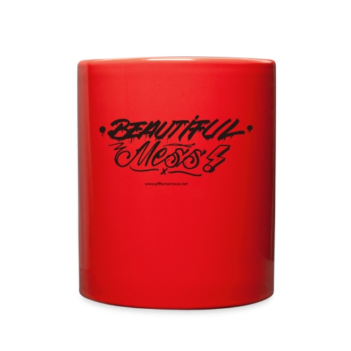 Red Beautiful Mess Coffee Cup - Full Color Mug