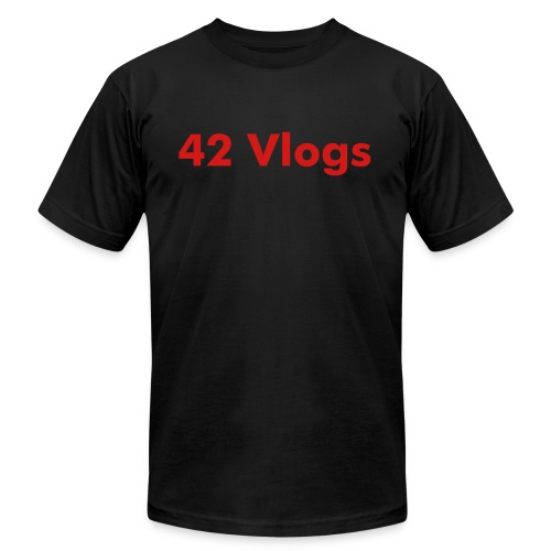 42 Vlogs Shirt - Men's Fine Jersey T-Shirt