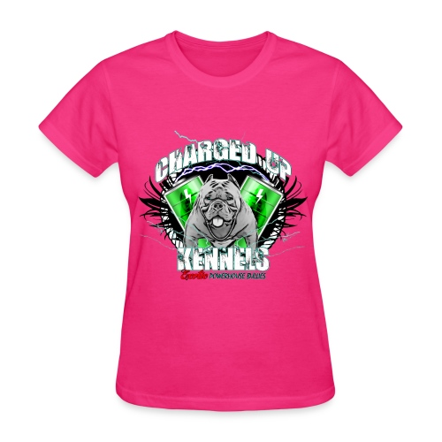 Charged Up Female Tee - Women's T-Shirt