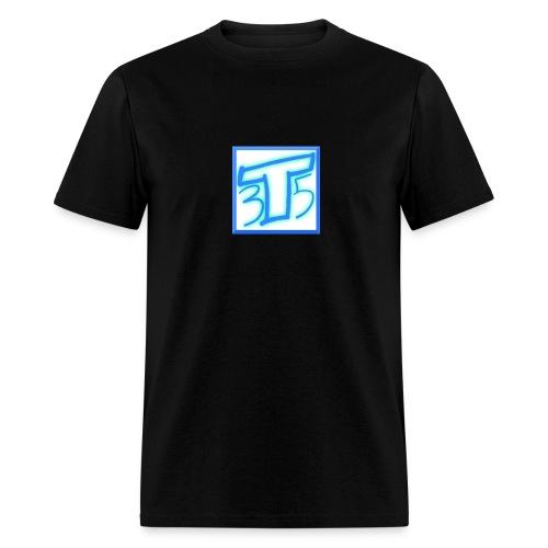 T35 Logo men's t-shirt (black) - Men's T-Shirt