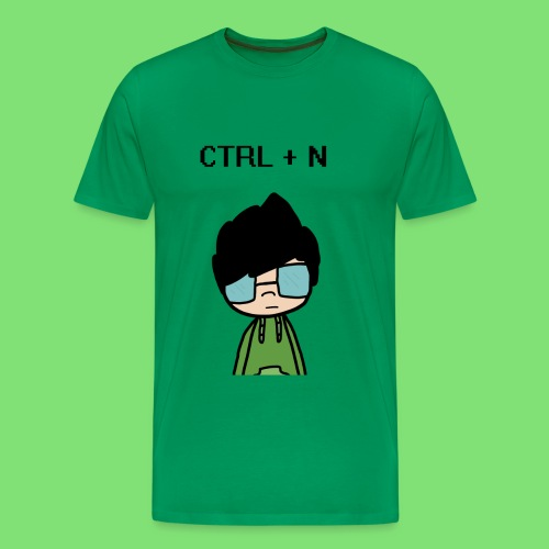 CTRL + N Shirt - Men's Premium T-Shirt