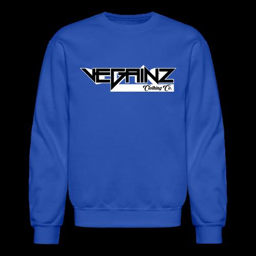 Vegainz Logo Men's Long Sleeve Shirt - Crewneck Sweatshirt