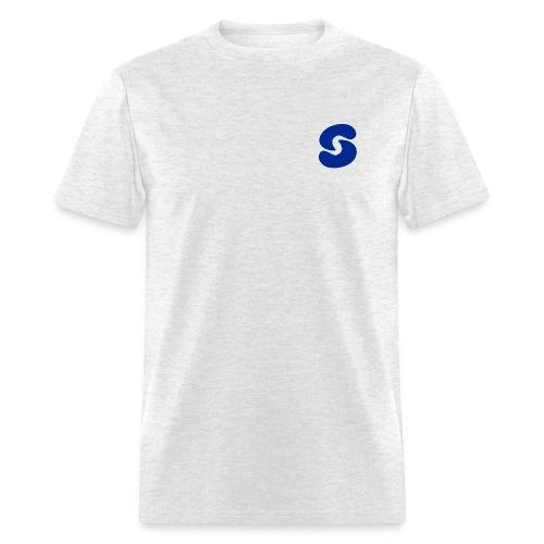 SPACEY WHT LOGO LONG SLEEVE - BLK - Men's T-Shirt