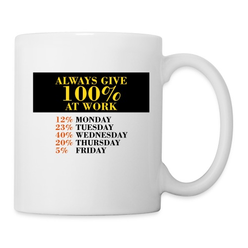 100% at Work - Coffee/Tea Mug
