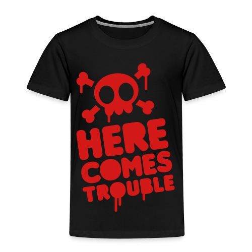 HereComes Toddler Tee by Rebellious Wear - Toddler Premium T-Shirt