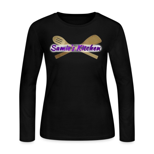 Samie's Kitchen Long Sleeve Tshirt - Women's Long Sleeve Jersey T-Shirt