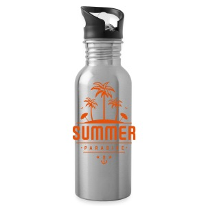 Summer paradise - Water Bottle