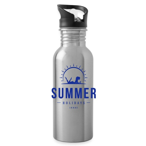 summer holidays beach - Water Bottle