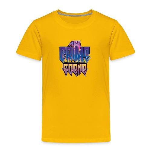 Miss Crime Scene Fan Support Men's T-shirt - Toddler Premium T-Shirt