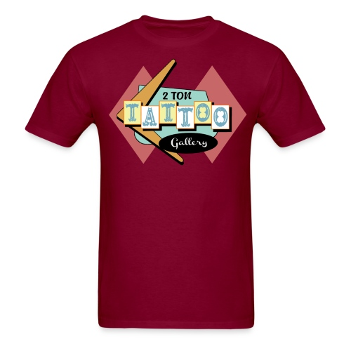 Welcome to 2Ton - Men's T-Shirt