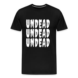 Undead tee (Men's) - Men's Premium T-Shirt