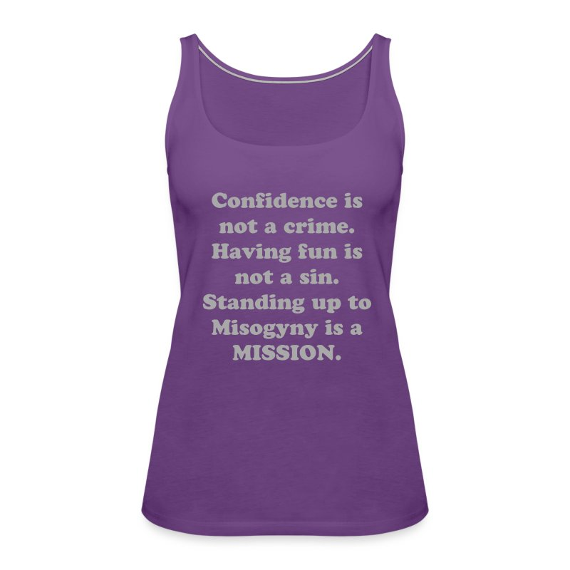 Con Philosophy Tank - Women's Premium Tank Top