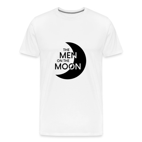 MOTM Men's White T-Shirt (No Quote on Back) - Men's Premium T-Shirt