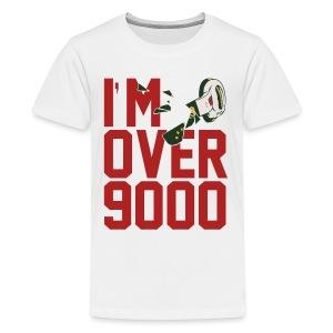I'M OVER 9000 Kids T - Kids' Premium T-Shirt